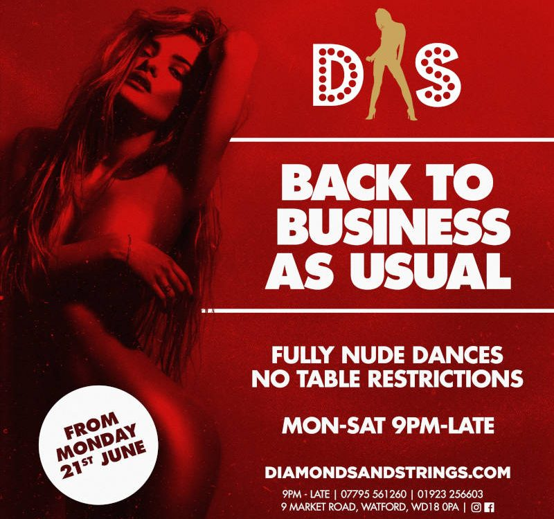 Diamonds and Strings 2021 Reopening